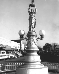 Skulptūra medvilniniui straubliukui